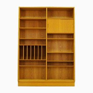 Libreria vintage in frassino di Poul Hundevad per Hundevad & Co.