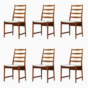 Vintage Teak Chairs from Vamo, Set of 6