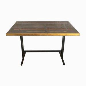 Vintage Tisch mit Keramikplatte