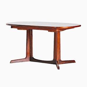 Tavolo da pranzo in palissandro di Niels O. Møller per Gudme Mobelfabrik, anni '60