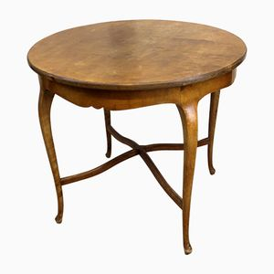 Antique Round Side Table