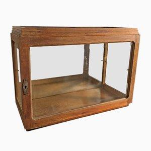 Mueble Art Déco vintage de vidrio