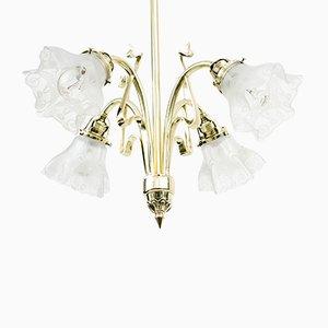 Art Nouveau Ceiling Lamp, 1900s