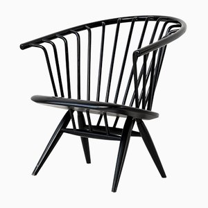 Vintage Finnish Model Crinolette Armchair by Ilmari Tapiovaara for Asko