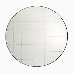 Grand Miroir Mural Centimetri Gris Bleu par Studiocharlie pour Atipico
