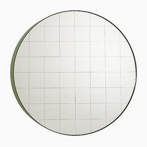Grand Miroir Mural Centimetri Vert Olive par Studiocharlie pour Atipico