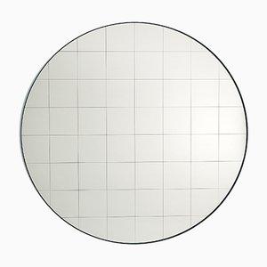 Grand Miroir Mural Centimetri Gris Soie par Studiocharlie pour Atipico