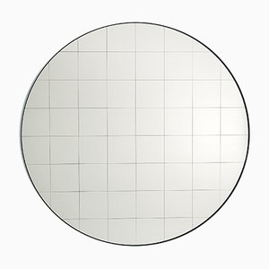 Large Centimetri Wall Mirror by Studiocharlie for Atipico in Silk Gray