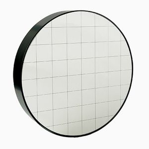 Medium Centimetri Wall Mirror by Studiocharlie for Atipico in Gray Blue