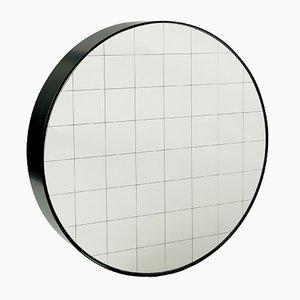 Medium Centimetri Wandspiegel von Studiocharlie für Atipico in Graublau