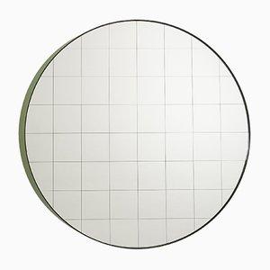 Medium Centimetri Wandspiegel von Studiocharlie für Atipico in Olivgrün