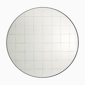 Espejo de pared Centimetri mediano en gris seda de Studiocharlie para Atipico