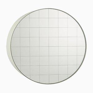 Espejo de pared Centimetri pequeño en verde oliva de Studiocharlie para Atipico