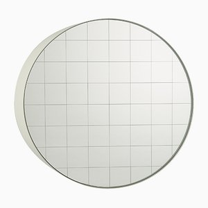 Small Centimetri Wall Mirror by Studiocharlie for Atipico in Olive Green