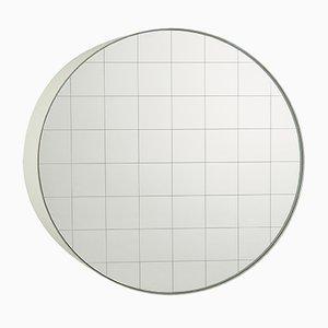Kleiner Centimetri Wandspiegel von Studiocharlie für Atipico in Signalweiß