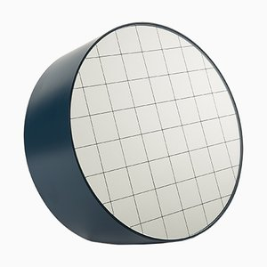 Espejo de mesa Centimetri grande en azul grisáceo de Studiocharlie para Atipico