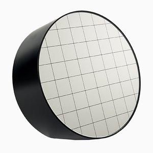 Grand Miroir à Poser Centimetri Noir Profond par Studiocharlie pour Atipico