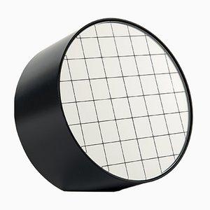 Standard Centimetri Tischspiegel von Studiocharlie für Atipico in Tiefschwarz