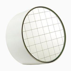 Espejo de mesa Centimetri mediano en blanco señales de Studiocharlie para Atipico