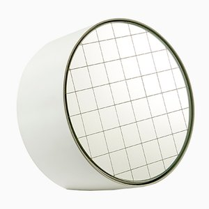 Regular Centimetri Table Mirror by Studiocharlie for Atipico in Signal White