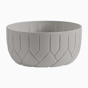 Milieu de Table Medium Frattali Gris Beige par Faberhama pour Atipico