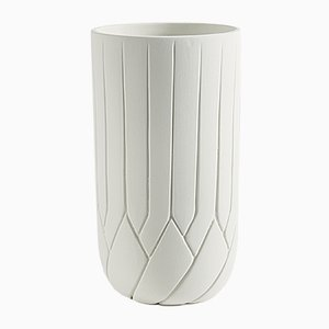 Large Frattali Vase by Faberhama for Atipico in Cream
