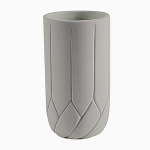 Small Frattali Vase by Faberhama for Atipico in Beige Gray
