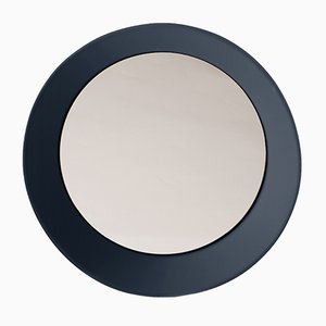 Large Wall Mirror by Zaven for Atipico in Gray Blue