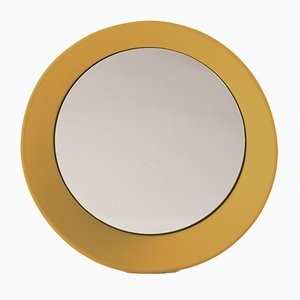 Large Wall Mirror by Zaven for Atipico in Curry Yellow