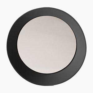 Grand Miroir Mural Noir par Zaven pour Atipico