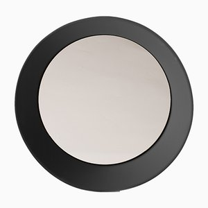 Large Wall Mirror by Zaven for Atipico in Signal Black