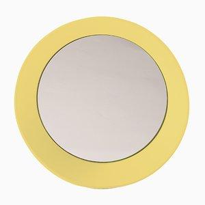 Petit Miroir Mural Jaune Zinc par Zaven pour Atipico