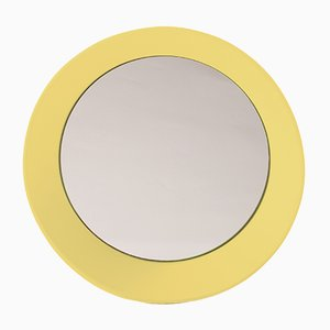 Small Wall Mirror by Zaven for Atipico in Zinc Yellow