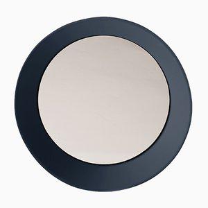 Petit Miroir Mural Gris Bleu par Zaven pour Atipico