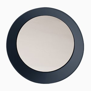 Small Wall Mirror by Zaven for Atipico in Gray Blue