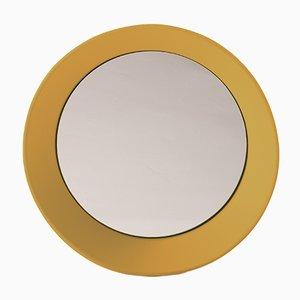 Specchio a muro piccolo giallo curry di Zaven per Atipico