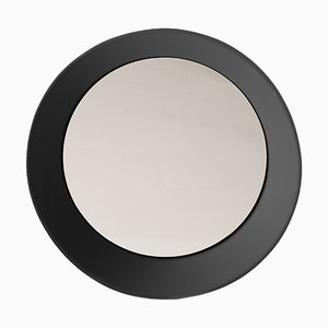 Small Wall Mirror by Zaven for Atipico in Signal Black
