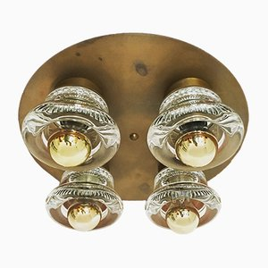 Brass Wall or Ceiling Lamp from Cosack, 1960s