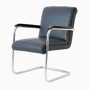 B 97 Armlehnstuhl aus Stahlrohr von Anton Lorenz für Thonet, 1934