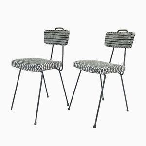 Stühle aus Draht, 1950er, 2er Set
