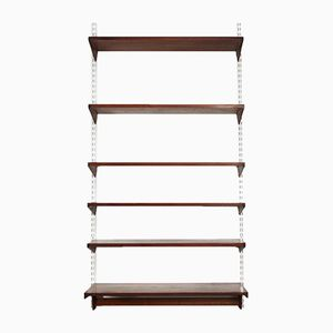 Mid-Century Danish Teak Wall Shelves by Kai Kristiansen