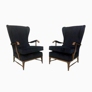 Italienischer Mid-Century Sessel von Paolo Buffa, 2er Set
