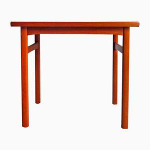 Mesa auxiliar danesa vintage de teca