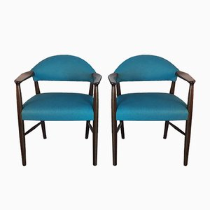 Armchairs by Kurt Olsen for Slagelse Møbelværk, 1950s, Set of 2