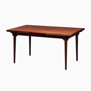 No. 54 Rosewood Extendable Dining Table from Omann Jun, 1960s