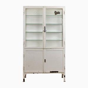 Vintage Medical Display Cabinet, 1940s