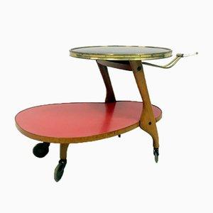 Chariot Bar ou Desserte par Wilhelm Renz, Allemagne, 1950s