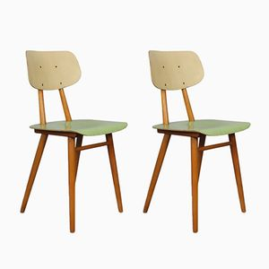 Vintage Chairs from Ton, 1960s, Set of 2