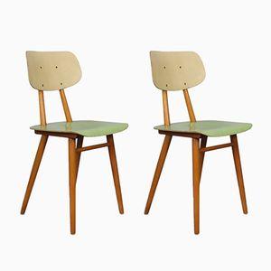 Vintage Stühle von Ton, 1960er, 2er Set