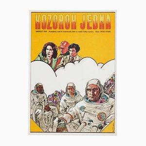 Poster del film Capricorn vintage One di Antonín Sládek, 1978